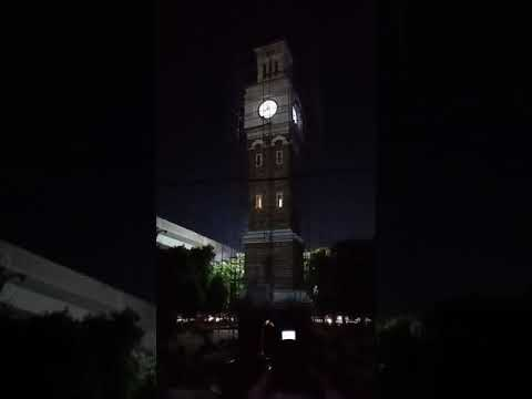 Secunderabad Clock Tower restored by Ramesh Watch Company, with the Chime of Big Ben London.