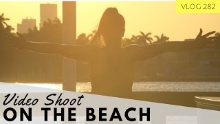 FITNESS VIDEO SHOOT IN MIAMI - BEHIND THE SCENES TO NELLY'S BIKINI BODY