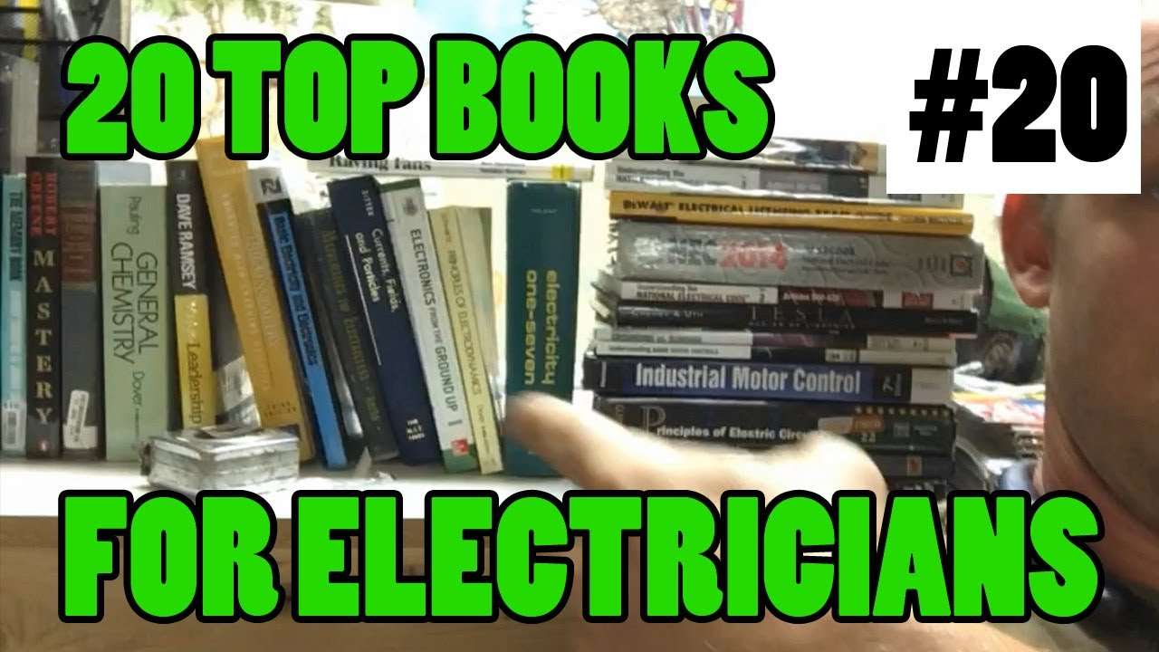 Ep 20 - 20 Best Electrical Books and Test Prep Study Guides