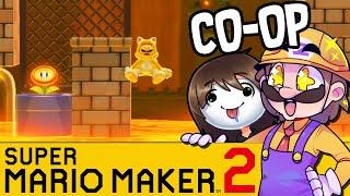Das Mario Metroidvania | SUPER MARIO MAKER 2 Coop