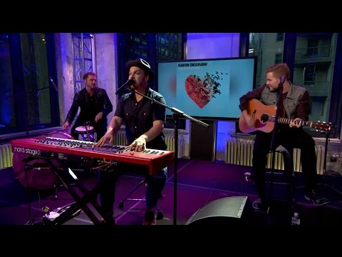 Gavin DeGraw - I Don't Want To Be (Live from AOL Build)