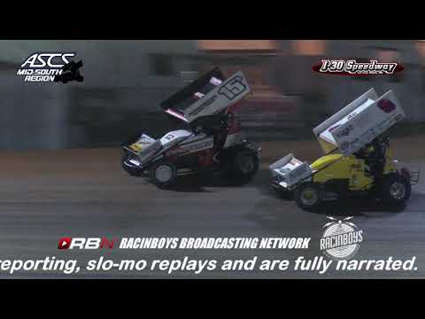 Night One of the Short Track Nationals from Little Rock AR  10.5.18