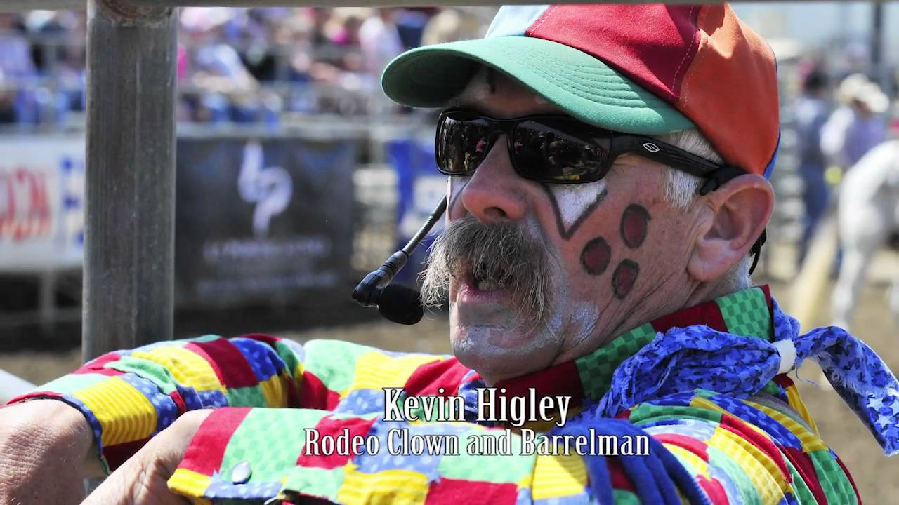 Kevin Higley Rodeo Clown Barrelman Youtube