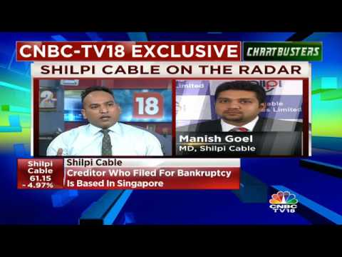 Creditors Filed Bankruptcy Proceeding Against Company For $10 m: Shilpi Cable | CNBC TV18