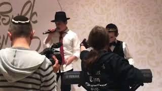 Выступление на еврейской свадьбе Chabad wedding in Moscow