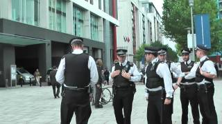 Long Edit of Arms Fair Protest London 2011 (1 of 3)