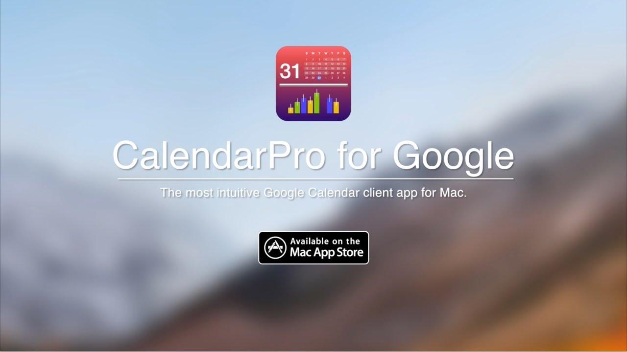 Calendarpro For Google The Best Google Calendar App For Mac