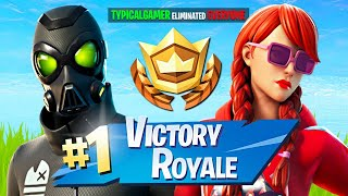 Winning in Duos w/ My Girlfriend! (Fortnite Season 5)