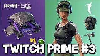 *NEW* Fortnite TWITCH PRIME PACK #3 RELEASING? EPIC GAMES LEAKED TWITCH PRIME PACK #3?