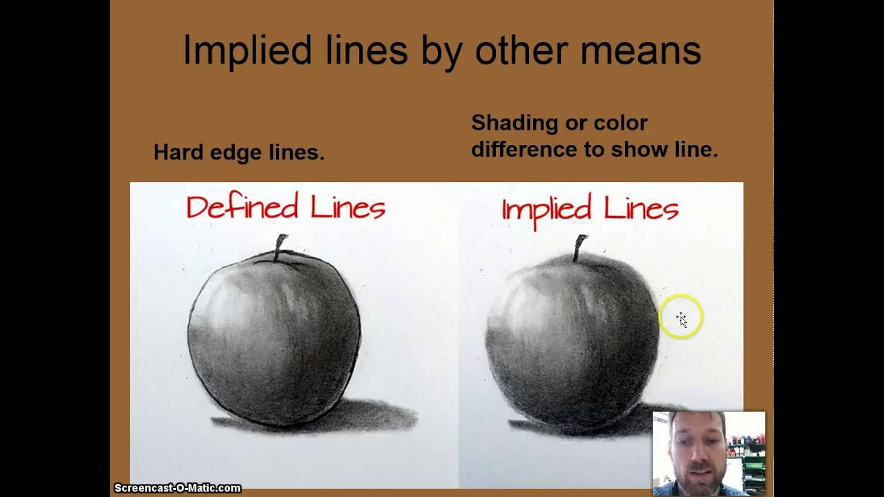 Implied Lines In Art : How to create implied line youtube