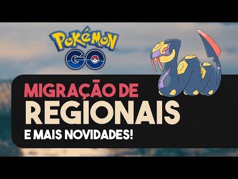 MIGRAÇÃO DE REGIONAIS, RAIDS EX E MAIS! | Pokémon GO | Notícias da semana thumbnail
