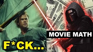 Box Office for In The Heart of the Sea, The Big Short, Star Wars The Force Awakens
