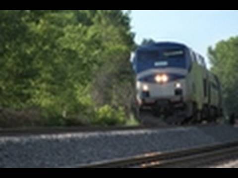 Amtrak Action South of Albany-Rensselaer, NY