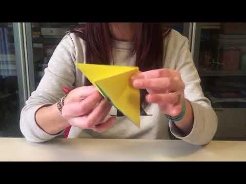 Origami, come fare la farfalla