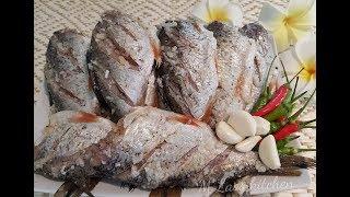 How to make Laos Sour Fish วิธีทำปลาส้ม ของลาว ປາສົ້ມ