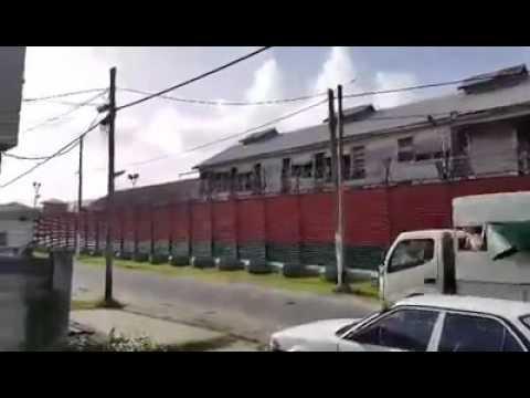 Breaking: Happening now at Camp Street Prison in Georgetown, Guyana. 03/04/2016