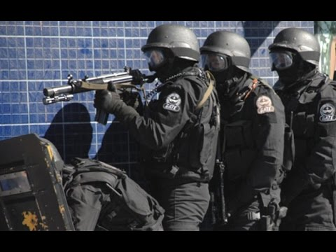 GATE - Policia Militar MG - Treinamento - Police Brazil