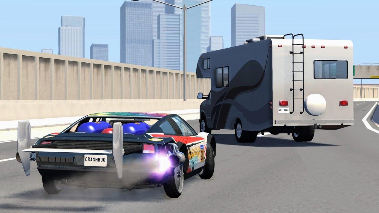 Download Max Speed Crashes #1 – BeamNG Drive   CrashBoomPunk