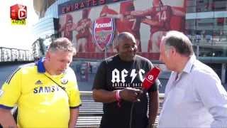 Claude & Chelsea fan Tony argue about Fabregas | Super Fan Face Off Pt1