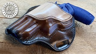 Making a Flat Back Pancake Leather Holster - Taurus Judge 4510 3 Inch