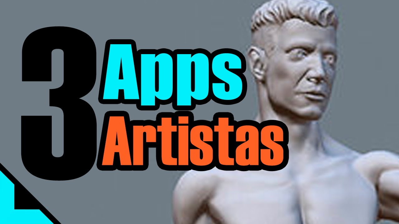 3 apps para Artistas, dibujantes. Ipad, iphone, ipod. ios. - YouTube