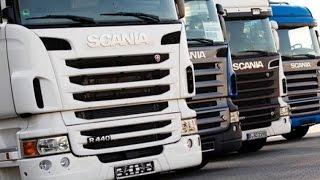 كيف صنعت - شاحنات السكانيا Scania