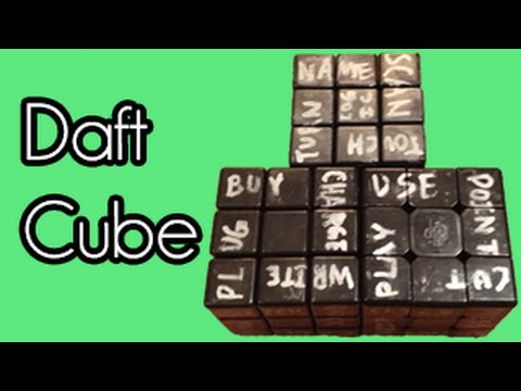Daft Cube  Technologic ORIGINAL