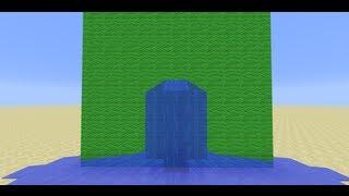 Water Climbing -- Minecraft Challenge