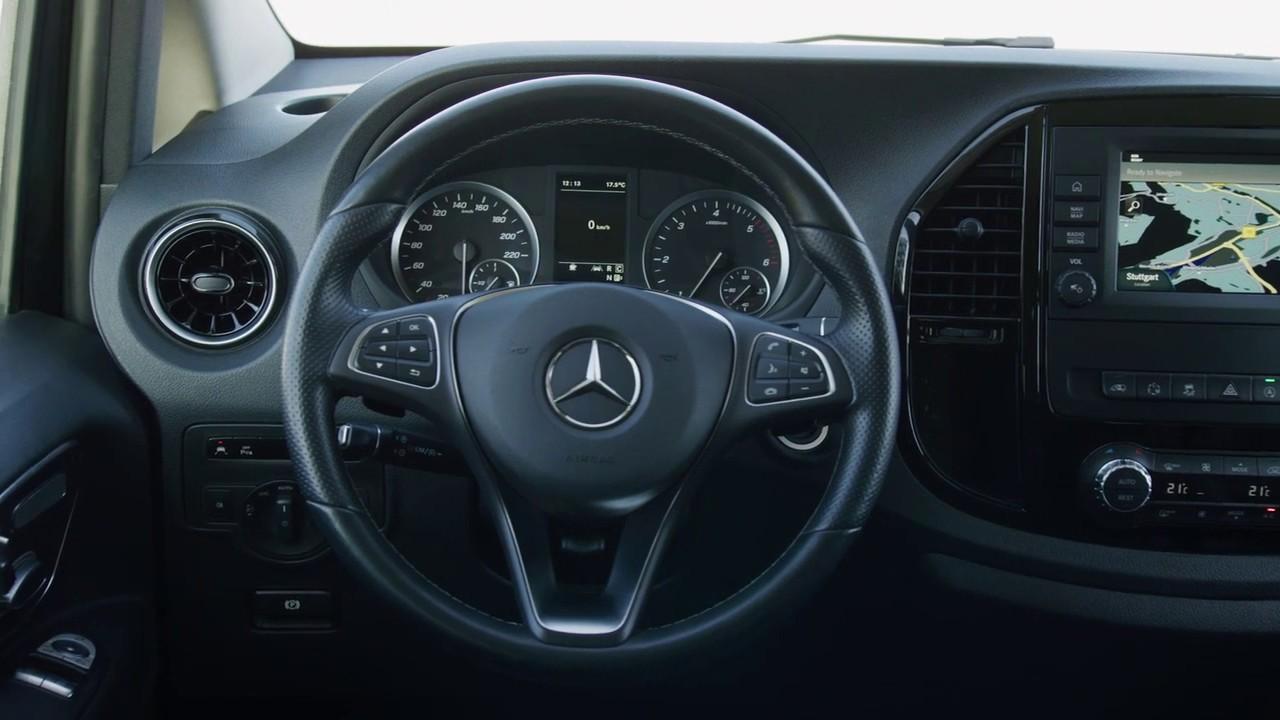 The new Mercedes-Benz Vito Tourer 2021 Interior - YouTube
