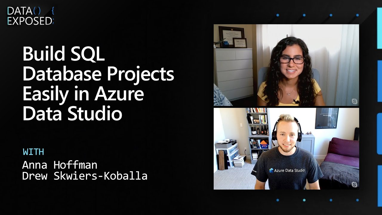 Build SQL Database Projects Easily in Azure Data Studio   Data Exposed