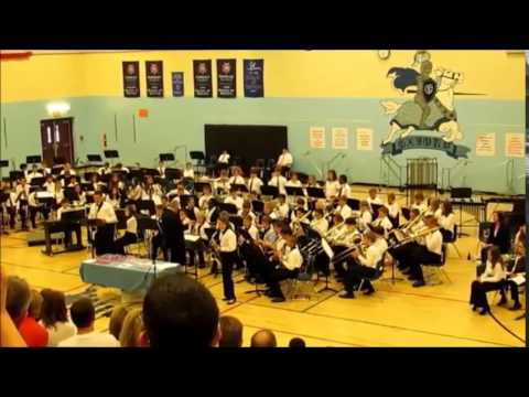"OMS Jazz Band - ""Gonna Fly Now"" 