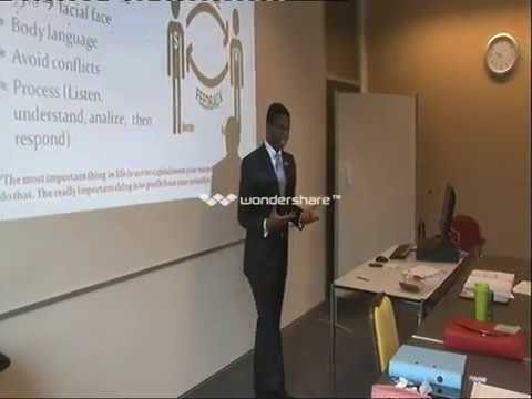 Basic presentation of Human Resources, Jean Yves Pereira