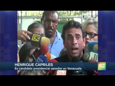 Henrique Capriles pide a Santos no dejarse provocar de Maduro