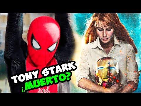 Spider-Man Far From home ¿Revela Muerte de Tony Stark? SECRETOS REVELADOS del Trailer