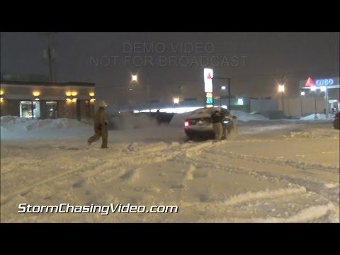 2/1/2015 Jackson, MI Winter Storm Messy Snows