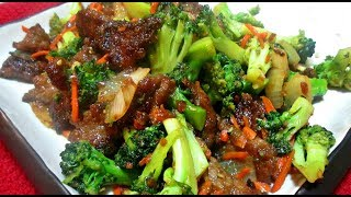 Beef And Broccoli - Teriyaki Style Stir Fry - Poormansgourmet