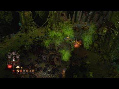 Warhammer Chaosbane_Boss fight with witch hunter |