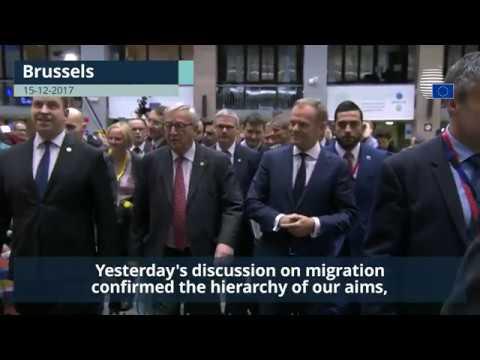 Donald Tusk wraps up December European Council - Highlights