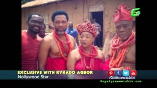 exclusive with rykado agbor greenwich tv