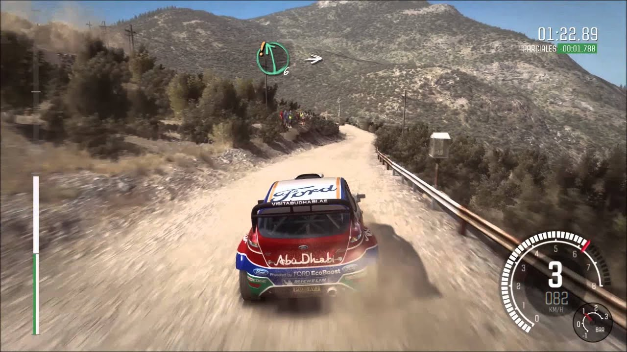 dirt rally pc grecia ford fiesta rs wrc youtube. Black Bedroom Furniture Sets. Home Design Ideas
