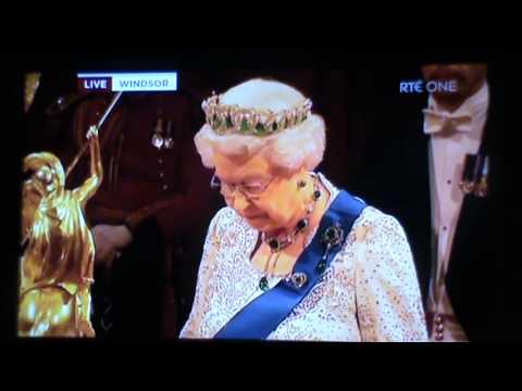 Michael D Higgins & HRH The Queen Banquet Speech Windsor