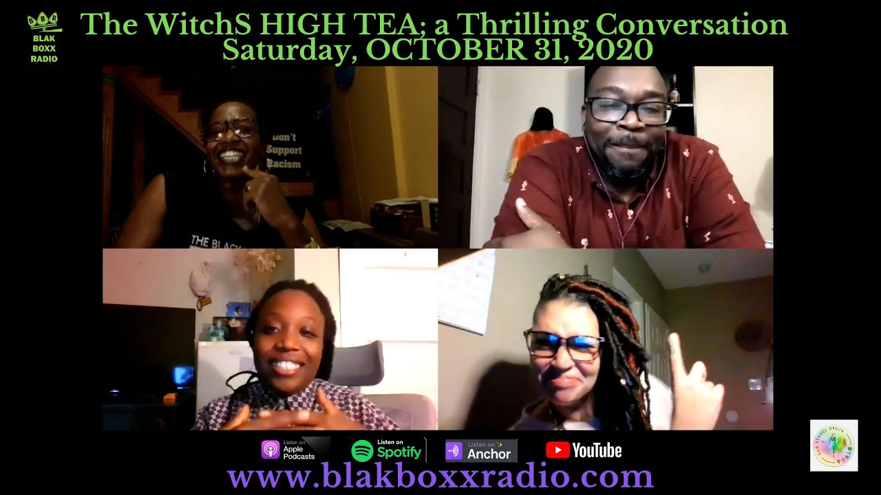 THE WITCHS HIGH TEA… A THRILLING PRELUDE WITH THE OLD SCHOOL BRUJA AND TI COLEMAN