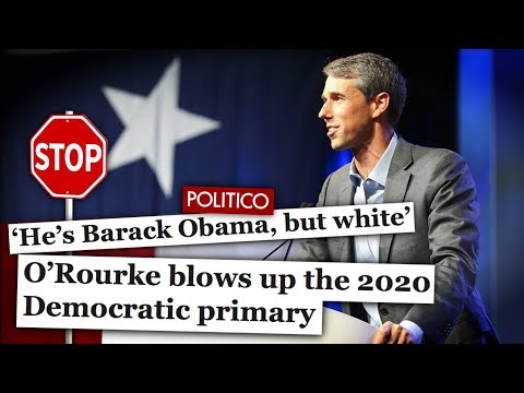 Centrist Dems Are Desperately Trying to Make 'Beto 2020' a Thing