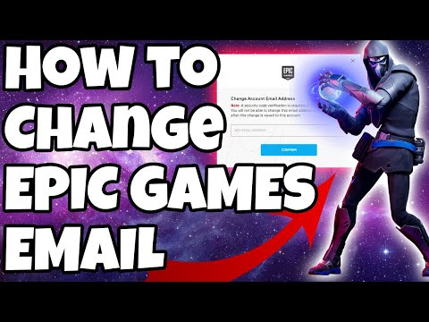 How To Change Email On Epic Games