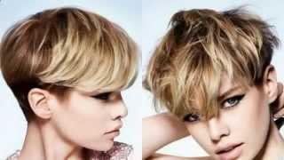 Элегантные стрижки на короткие волосы