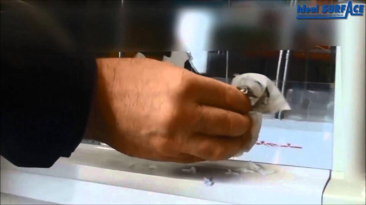 Comment nettoyer efficacement du plexiglass  YouTube