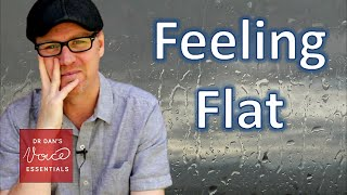 Post Performance Blues | Feeling flat AFTER performance | #DrDan