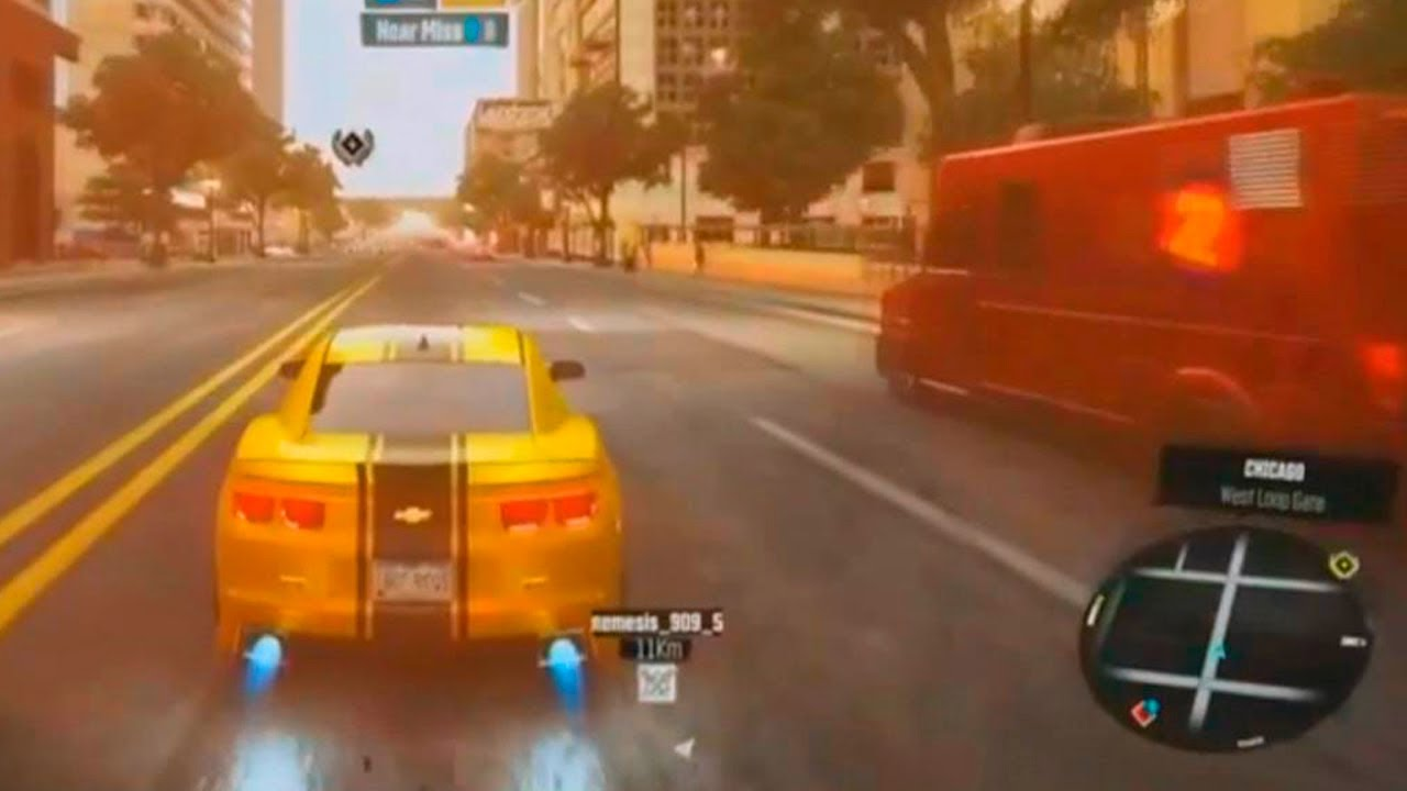 The Crew - Racing game PC gameplay with Chevrolet Camaro SS 2010