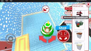 Decorating my holiday house meepcity  Roblox