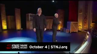 Colin Mochrie & Brad Sherwood will be at State Theatre New Jesey October 4, 2018
